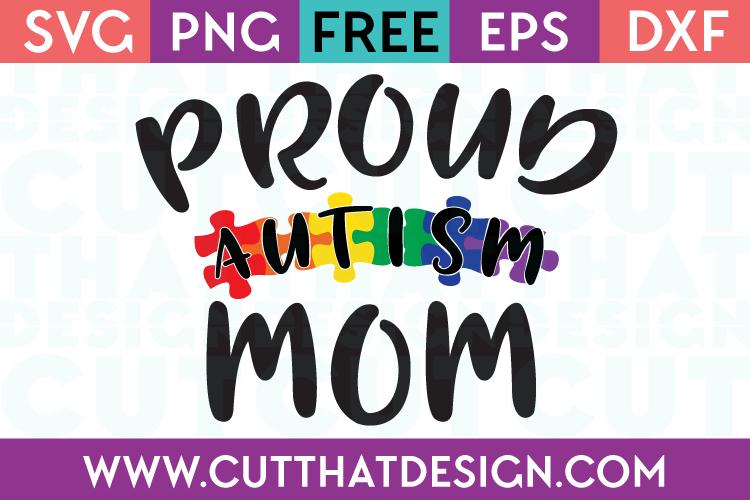 Free SVG Autism Mom