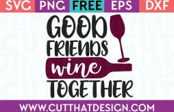 Free SVG Wine Phrases
