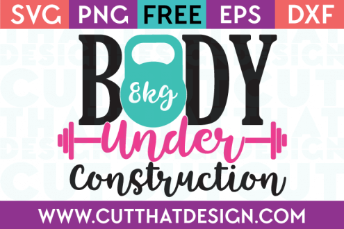 Free SVG Files Body under Construction