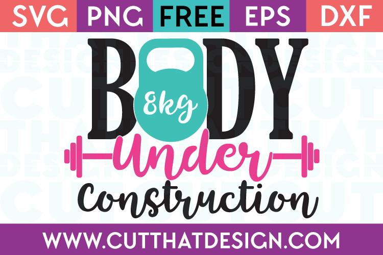 Free SVG Files Body under Construction