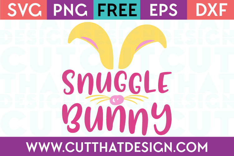 Free SVG Files Snuggle Bunny