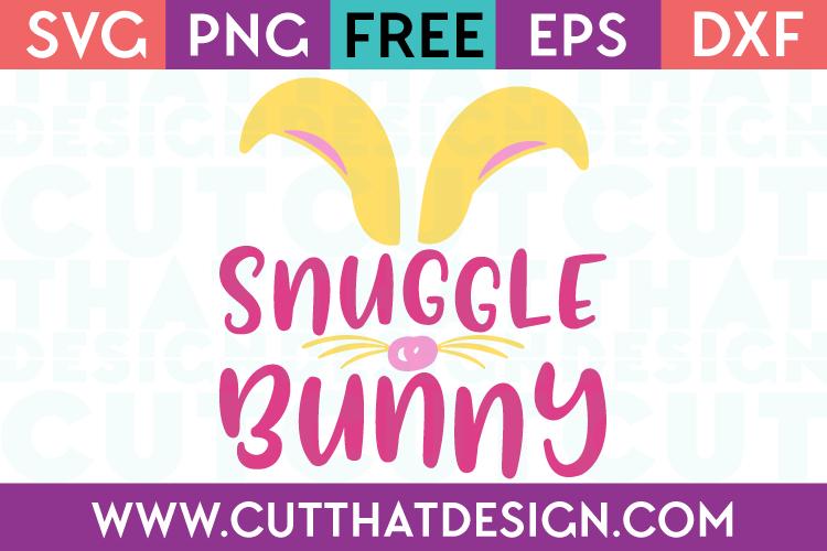 Free SVG Files Snuggle Bunny