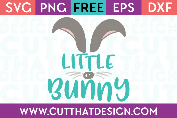 Free SVG Files Little Bunny