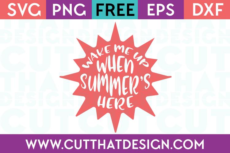 Free SVG Files Summer