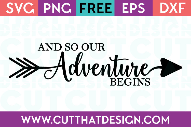 Free SVG Files and so our Adventure begins