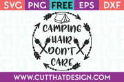 Camp Free SVG Cuts