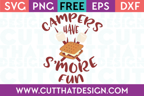Free Cutting Files Camping