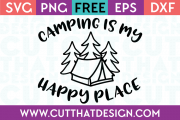 Free SVG Cut Files on Camping