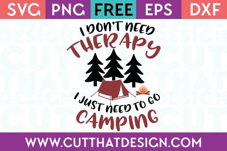 SVG Files Free Camping