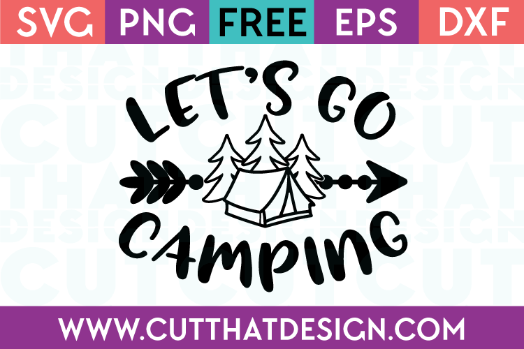 SVG Cut Files Free Camping Designs