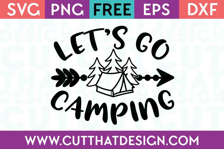 SVG Cut Files Free Camping Designs