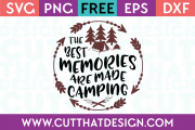 Free Cutting Files Camp Designs