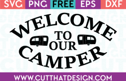 SVG Files Free Download Camping