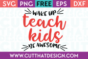 Free Cut Files Teaching