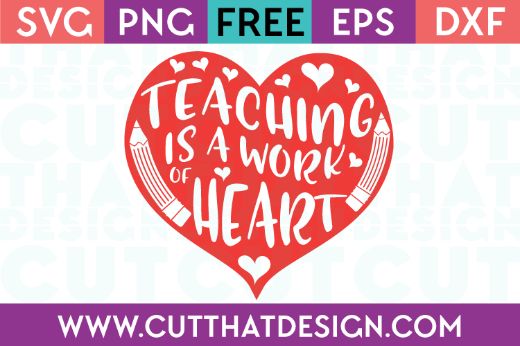 Free SVG Cut Files Teaching