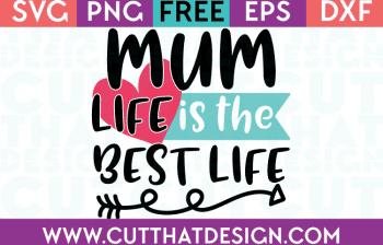 Free SVG Cutting Files Mum