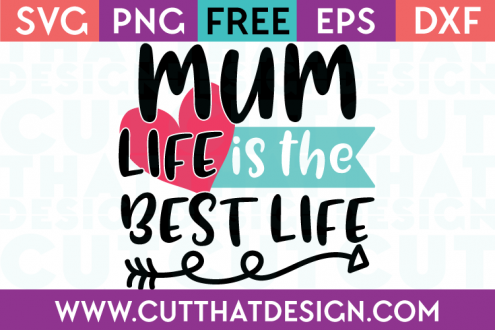Free SVG Cutting Files Mum