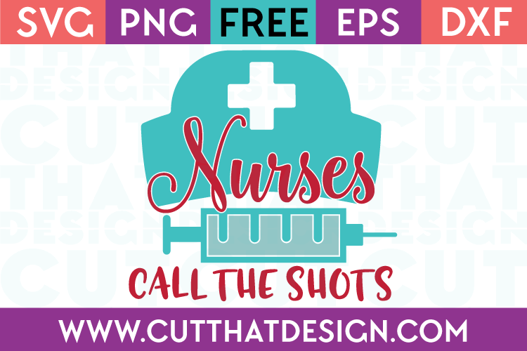 Free SVG Cut Files Nurse