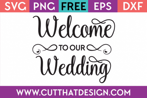 Wedding Cut Files Free
