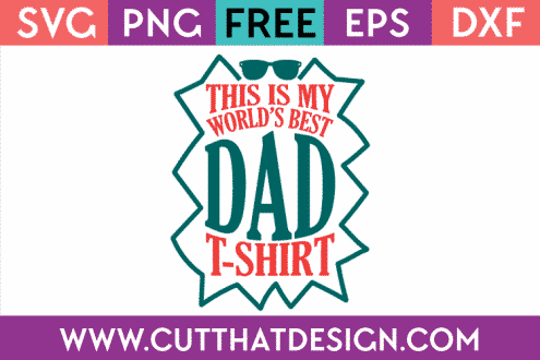 Free SVG Cut File for Father's Day