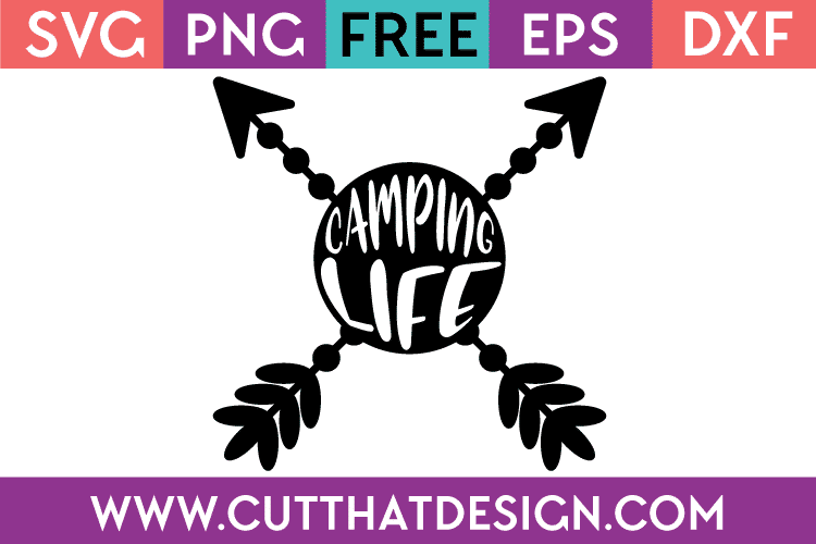 Free SVG Files of Camping