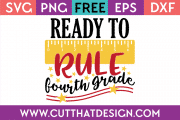 Free SVG Fourth Grade