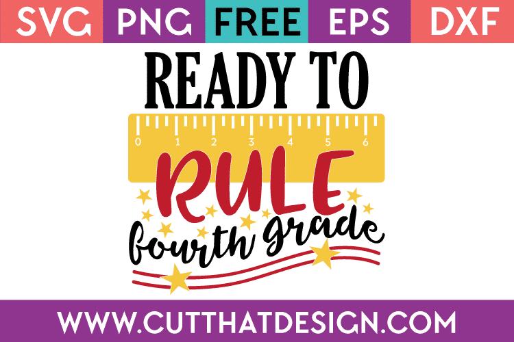 Free SVG Fourth Grade