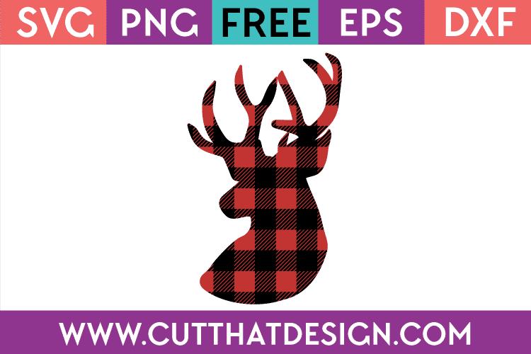 Free christmas deer svg
