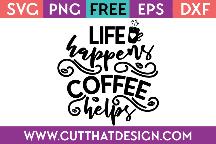 Free coffee quotes svg