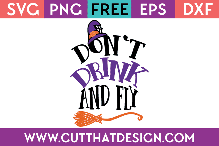 don't drink and fly svg