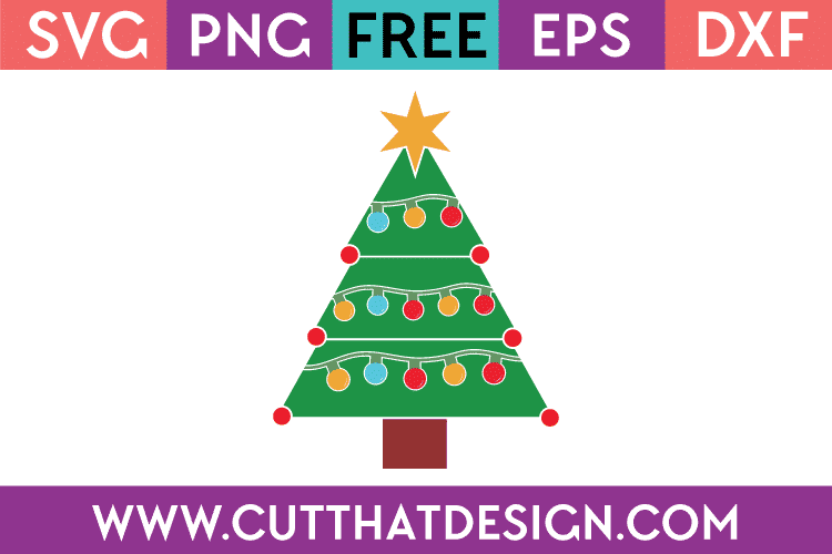Free Svg Files Christmas Tree Archives Cut That Design