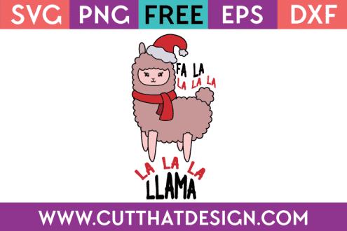 free llama svg files