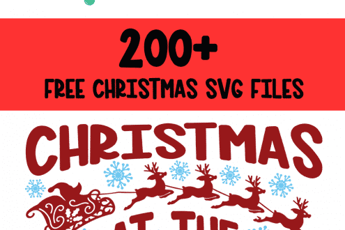 Free Christmas svg files for Cricut and silhouette