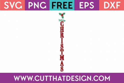Free Christmas Porch Sign SVG Files