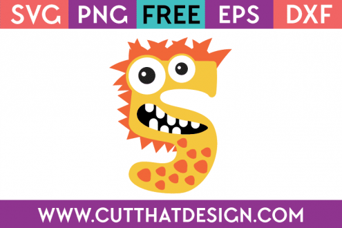 Free Monster Number SVG