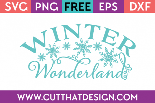 Winter Wonderland Free SVG