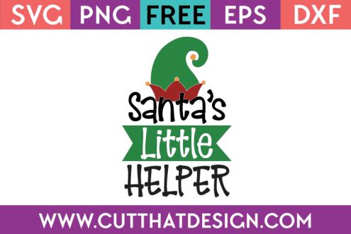 Free SVG Files Santa