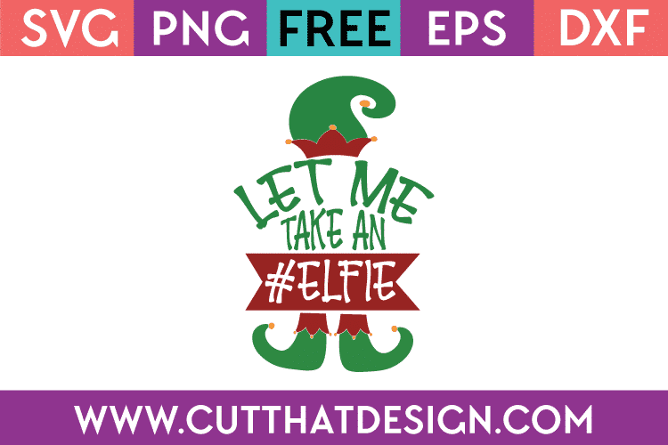 Free SVG Christmas Cutting Files