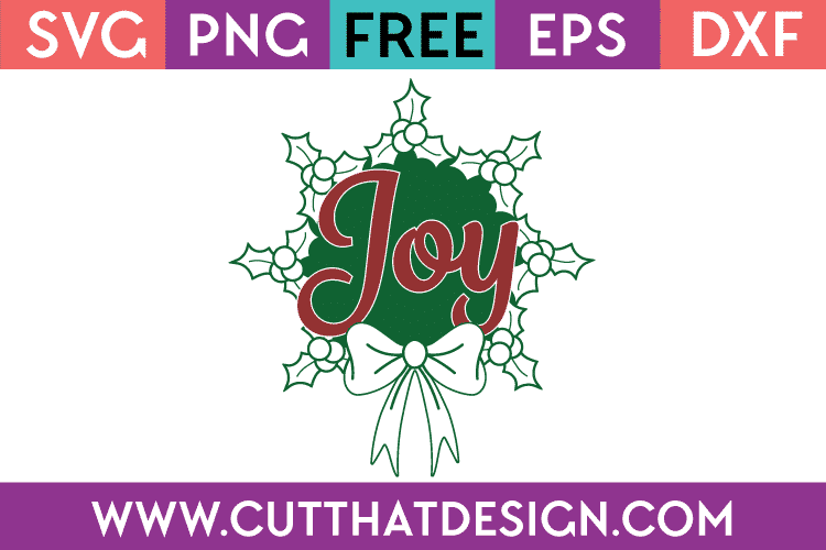 Free SVG Christmas Wreath