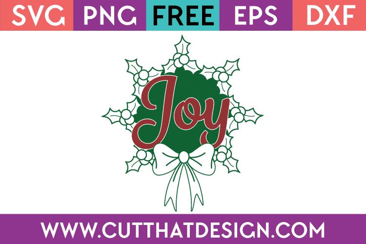 Free SVG Christmas Wreath