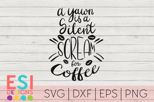 SVG Cut File Coffee