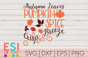 SVG Cutting Files Autumn