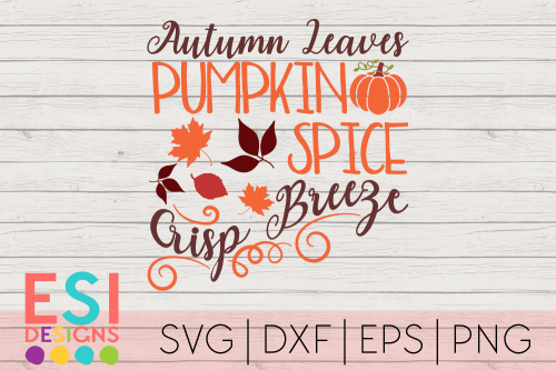 SVG Cutting Files Autumn