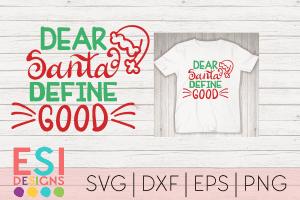 Dear Santa SVG