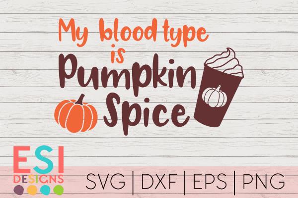 SVG Pumpkin Spice