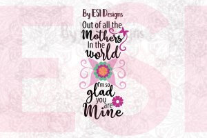 Mother's Day SVG Cut Files