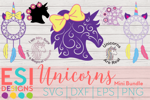 Unicorn SVG Bundle