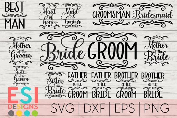 Wedding SVG Files
