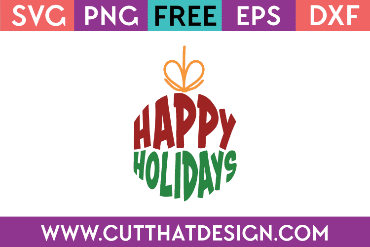 Free Christmas Bauble SVG
