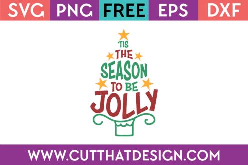 Free SVG Christmas Jolly